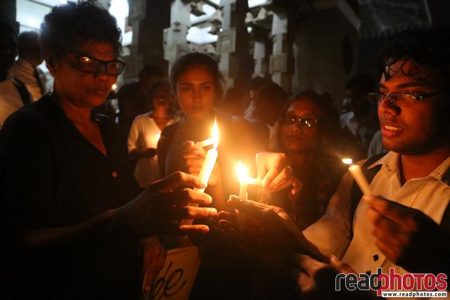 Protest against Meethotamulla litter problem, Sri Lanka (1)  - Read Photos