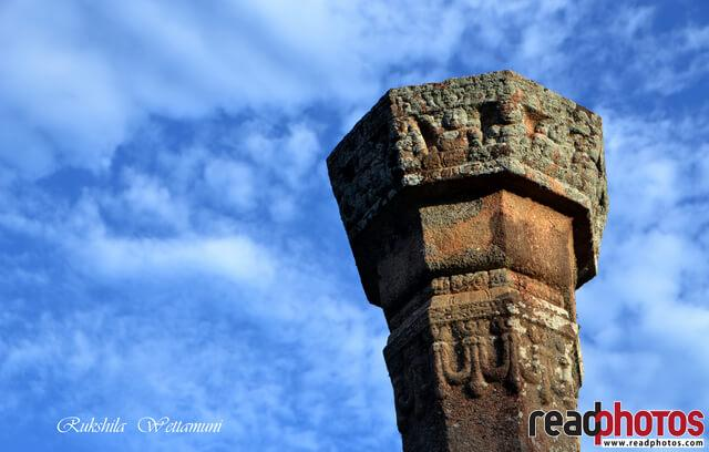 Ancient ruins, clouds, Sri Lanka - Read Photos
