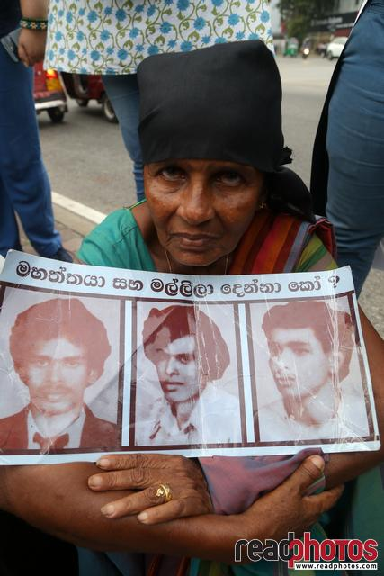 Civil society activist protest, Sri Lanka, 2018 (13)