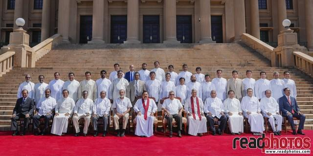 Swearing-in of State Ministers & Deputy Ministers 2019