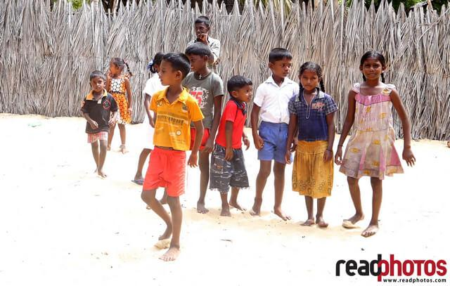 Children in northern province,Sri Lanka