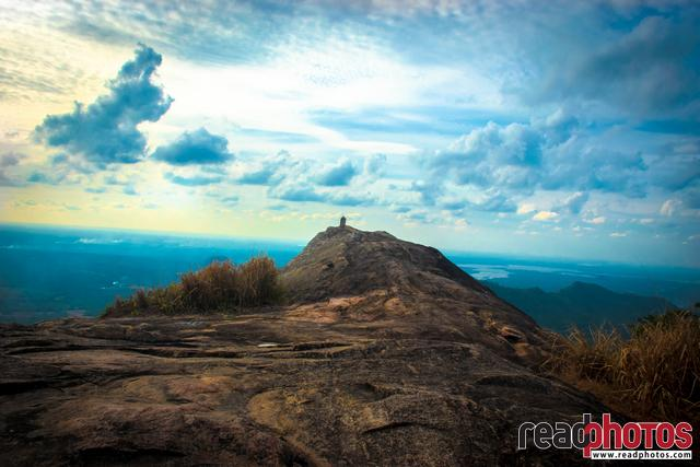 Mountain top, Cloudy sky, Sri Lanka