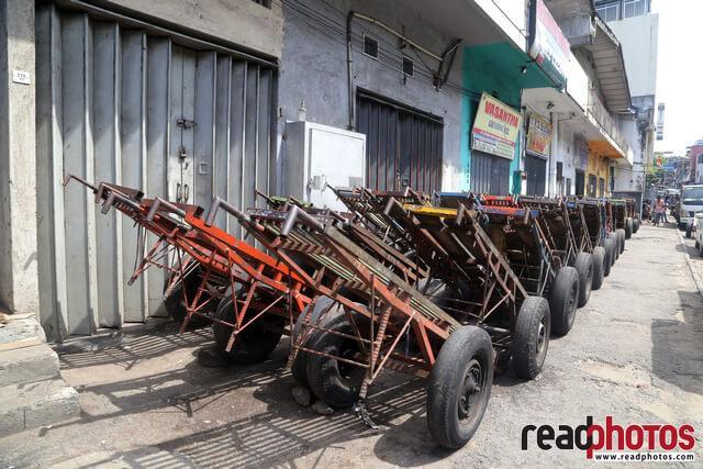 Pettah, Carts, Sri Lanka