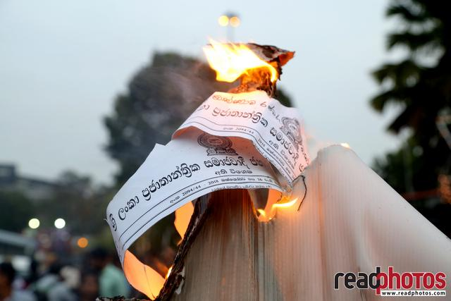 Civil society activist protest, Sri Lanka, 2018 (17)