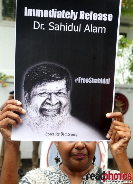 Protest, Free Shahidul. Colombo, Sri Lanka(3) - Read Photos