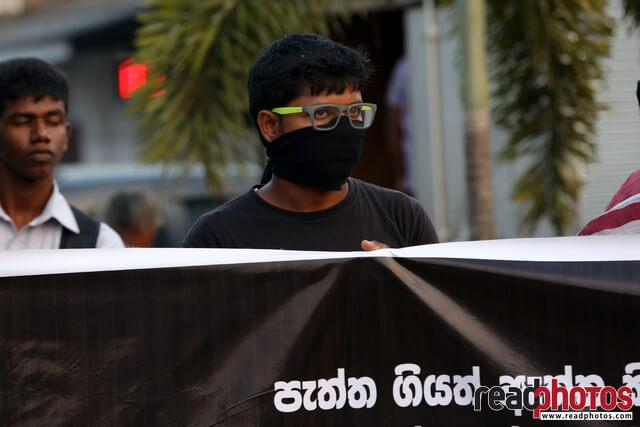 Protest against unethical media, Colombo, Sri Lanka (11)