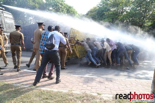 University student protest, Colombo 2019 (2) - Read Photos