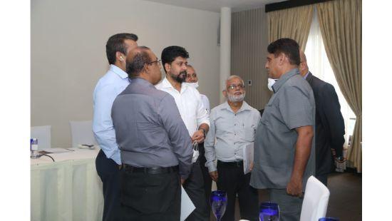 Sajith Premadasa meets the media company heads