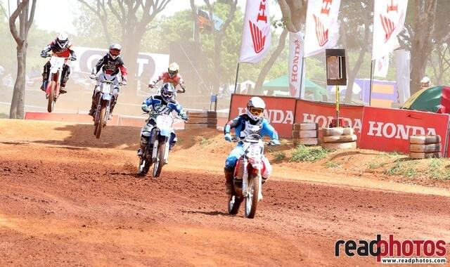 Motor cross event, Sri Lanka