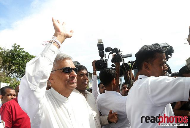 Protest Jana balaya UNP 2018 - Read Photos