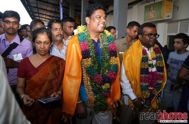 Media ministers and journalists visits Jaffna, Sri Lanka  - Read Photos