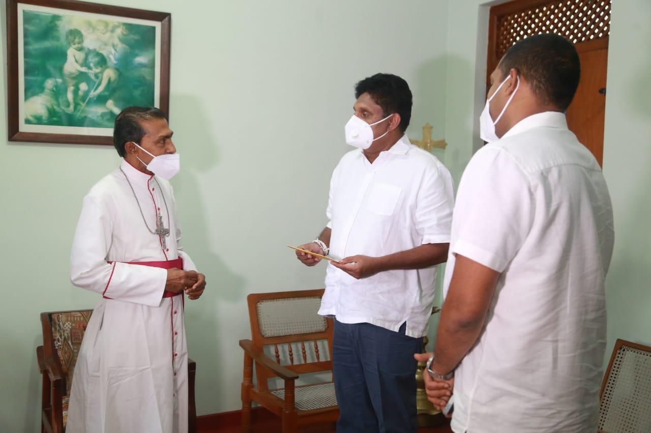 19/12/2020 Sajith Premadasa at Bishops House Badulla