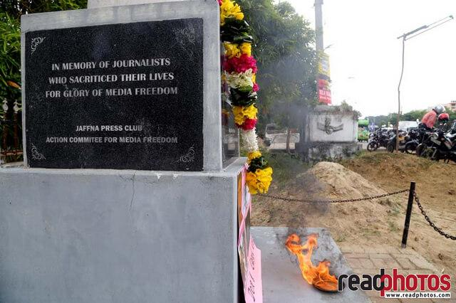 Journalist memorial event, Jaffna, Sri Lanka (2)