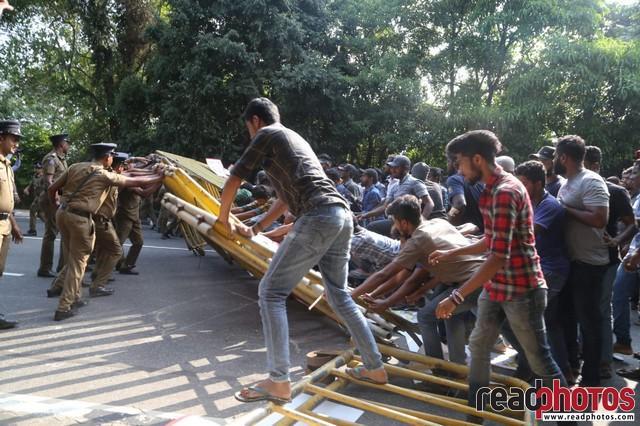 University student protest, Colombo 2019 (3)