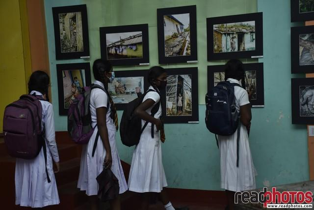Photo exhibition for 100 pictures of the Tamil community of the hill country