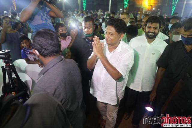 SJB election campaign - Sajith Premadasa at Colombo West on 31/07/2020