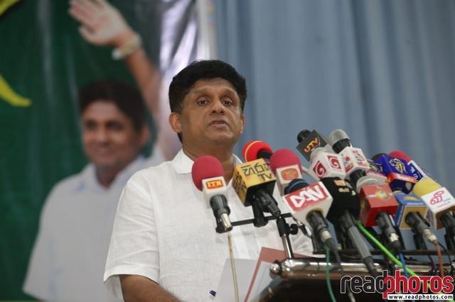 SJB election campaign - Sajith Premadasa at Vavuniya on 01/07/2020