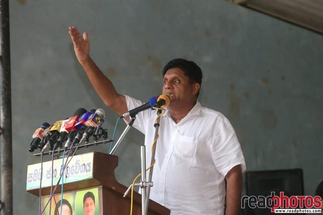 SJB election campaign - Sajith Premadasa at Laggala on 16/07/2020