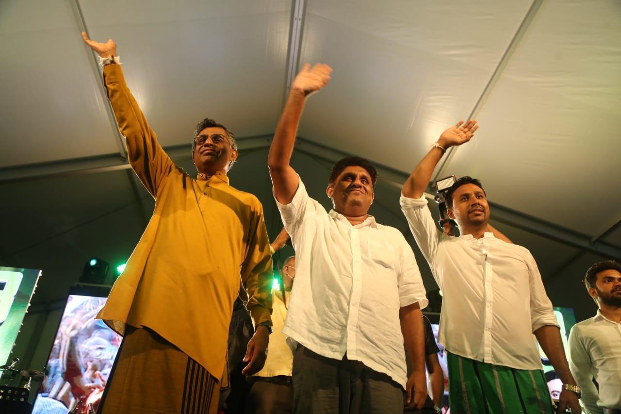 SJB election campaign - Sajith Premadasa at Homagama on 02/08/2020