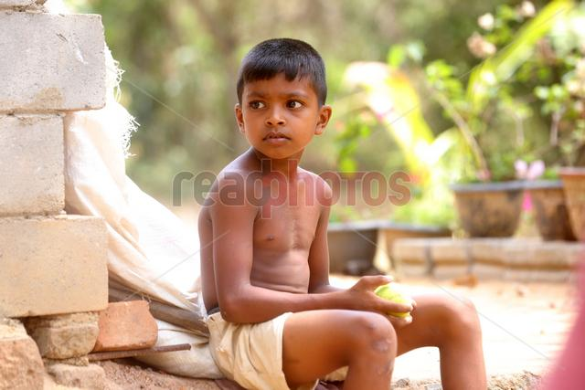 Children, Chilaw in Sri Lanka