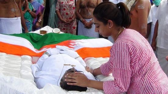 The body of Minister Arumugam Thondaman transferred to the Kotagala Workers Congress headquarters