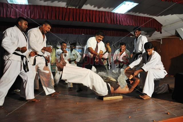 Karate event in Sri Lanka
