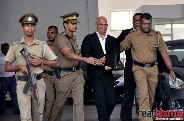 Ranjan Ramanayake visits the court