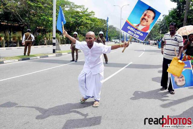 Presidential elections 2015 canvasing, Sri Lanka  - Read Photos