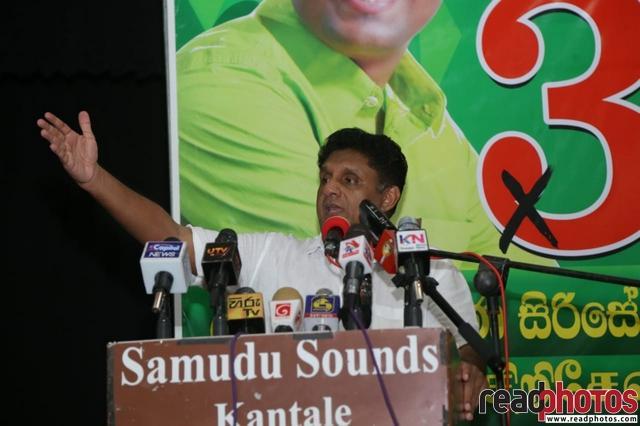 SJB election campaign - Sajith Premadasa at Kantale on 03/07/2020