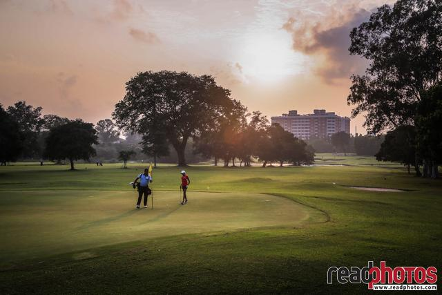 Golf game, Sri Lanka