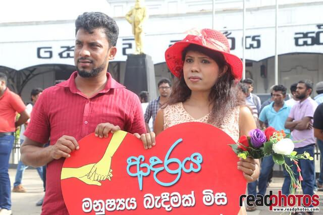 No need of dowry for the love, Protest (3) - Read Photos