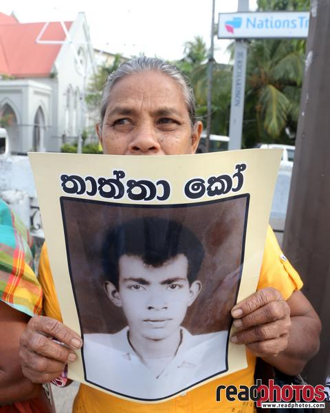 Civil society activist protest, Sri Lanka, 2018 (2)