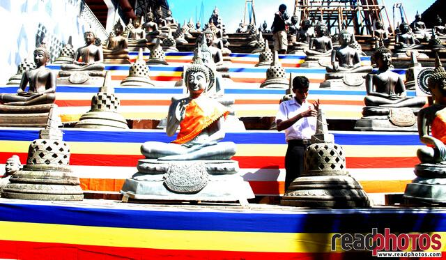 Preparing for wesak, Sri Lanka (1)