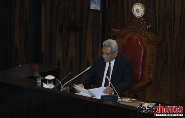 Fourth session of the 8th Parliament, Sri Lanka