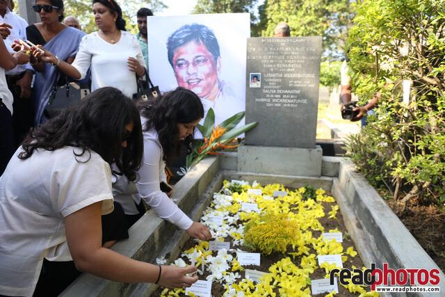 Lasantha Wickramathunga 10th Memorial (10) - Read Photos