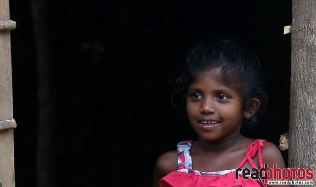 Smiling happy girl, Sri Lanka (2)