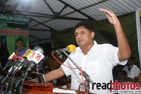 SJB election campaign - Sajith Premadasa at Hasalaka on 23/07/2020