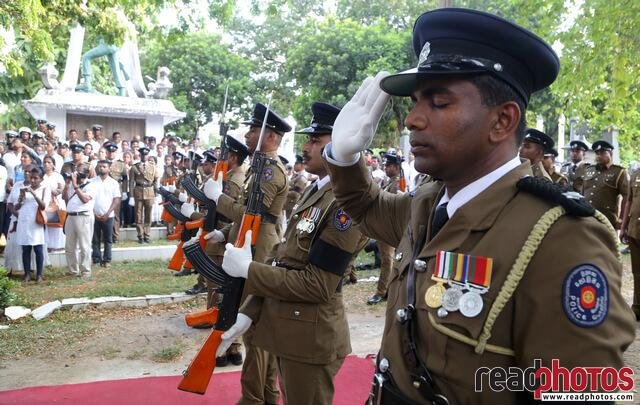 Police officer Funeral, Sri Lanka 2019 (2) - Read Photos