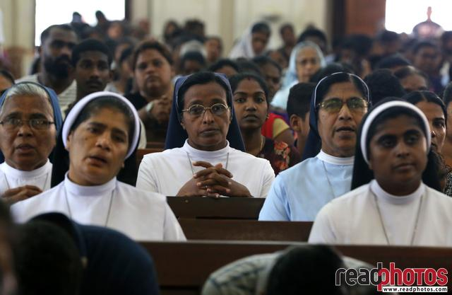 Memorial mass of 21st attack victims, Sri Lanka (19) - Read Photos