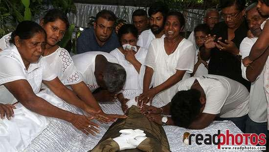 Premapala Hewabatage, funeral - Read Photos