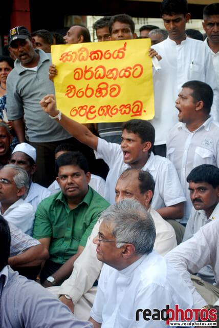 UNP protest, 2011, Sri Lanka (2) - Read Photos