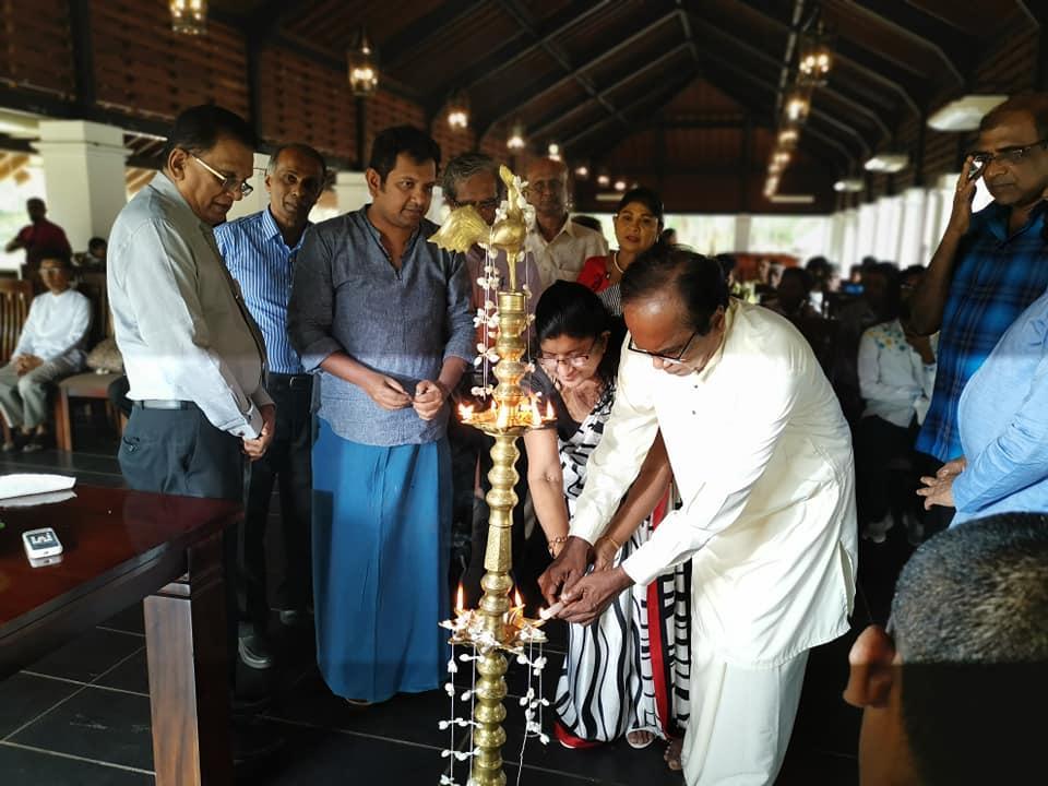 Lal Kularathna assumes duties as the Coordinating Director of Ape Gama Kendraya