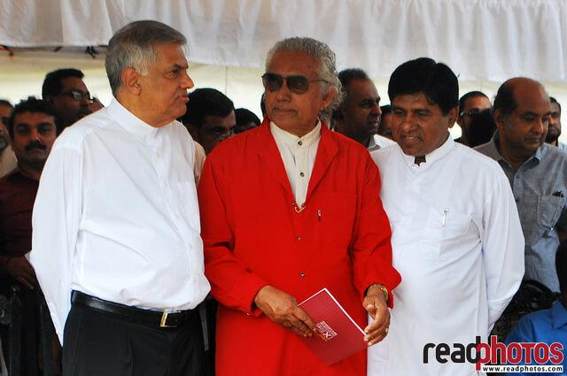 Sri Lanka Presidential election, Common candidate manifest introduction, 2015 - Read Photos