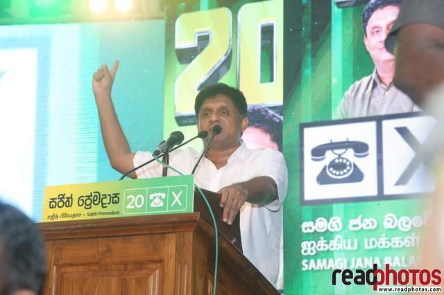 SJB election campaign - Sajith Premadasa at Moratuwa on 01/08/2020