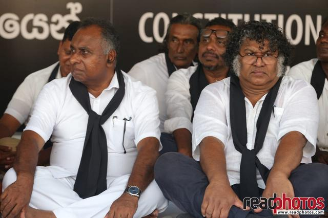 Protest by Social activists, Colombo, Sri Lanka 2018 (2) - Read Photos