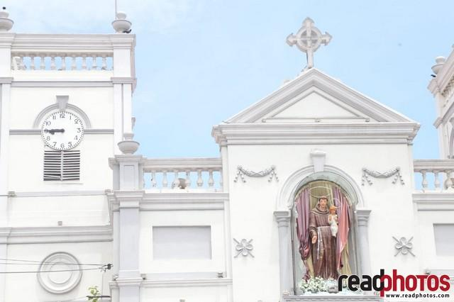 Aftermath of the bomb blast in Kochchi kade church, Sri Lanka 2019 (5)
