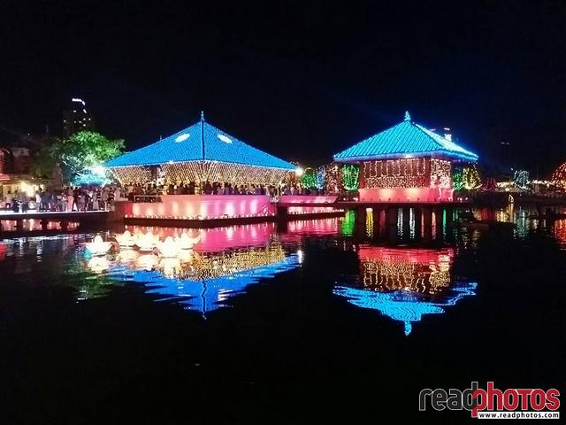 Colombo wesak night, mobile capture, Sri Lanka - Read Photos