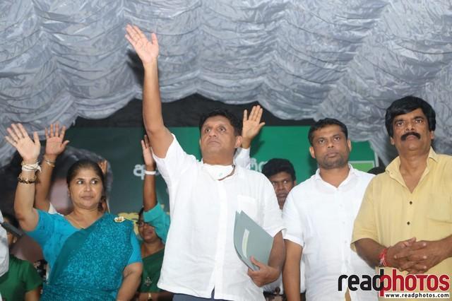 SJB election campaign - Sajith Premadasa at Thalawa on 18/07/2020