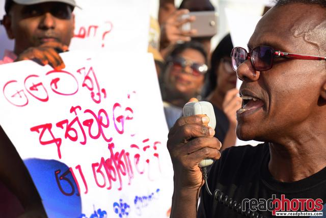 No death penalty: Protest against President's decision
