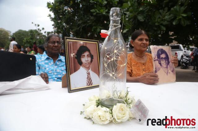 Missing person protest, Sri Lanka, 2019 (3) - Read Photos